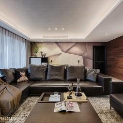 現代都市風休閑區沙發設計圖