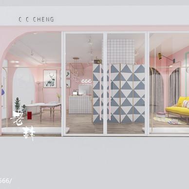 朝阳广场服装店设计_3133934