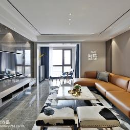 简约式客厅设计图片
