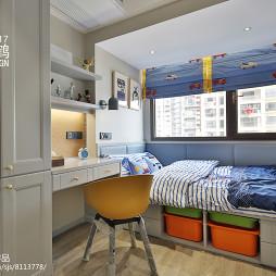 简约式儿童房设计图片