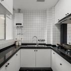 二居北欧式厨房设计图