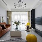 二居北欧式客厅设计图