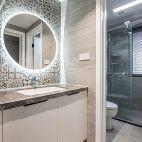 88平二居卫浴设计图