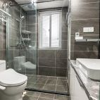 130平二居卫浴设计图