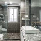 130平二居卫浴设计图片