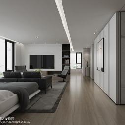 现代别墅设计_3140854