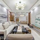 三居中式客厅设计图