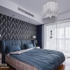 简单现代三居卧室设计实景图