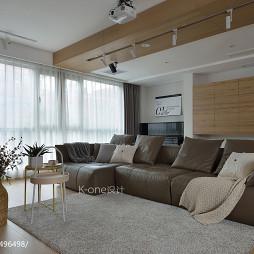 复式日式客厅沙发设计图