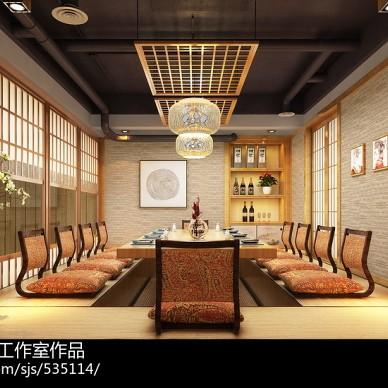 哈尔滨日本料理店面设计--涛料理居酒屋/群力财富中心_3150115