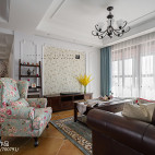经典美式客厅吊灯设计图