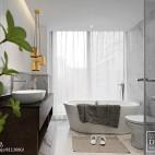 现代两居卫浴设计图片