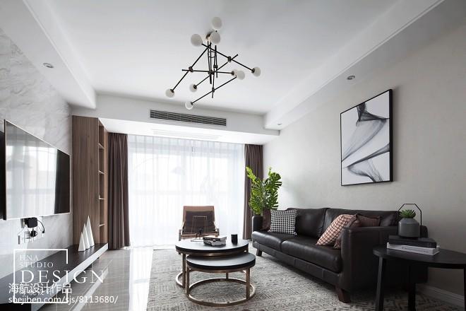 悠然雅居现代客厅设计图