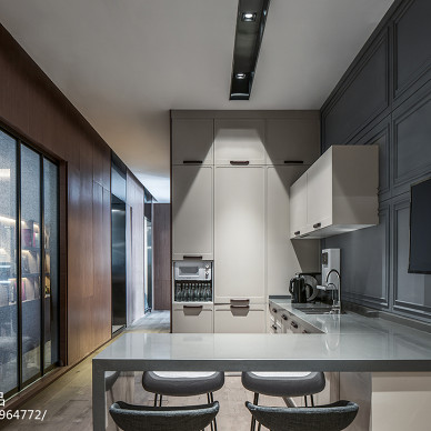 7KK DESIDN办公展厅厨房设计图