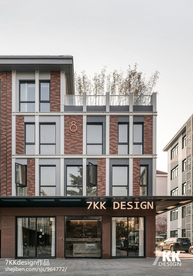 7KK DESIDN办公展厅外观设计