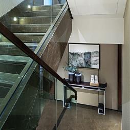 独栋别墅样板房楼梯设计图