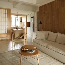 日式风格客厅设计图片