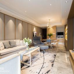 中式三居客厅设计实景图片