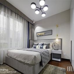 万科城市之光样板房卧室设计图片