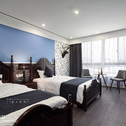 精品酒店美式房间设计图