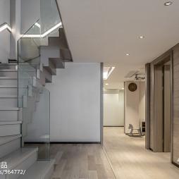 现代明亮楼梯设计图