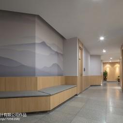 君和堂中医馆走廊设计图