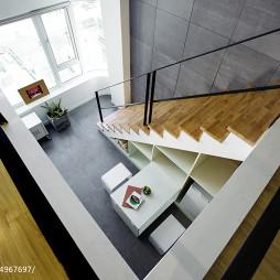 混搭办公室楼梯设计图