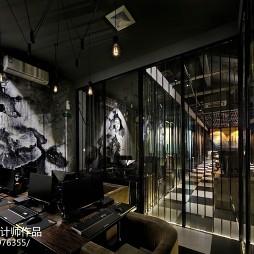 重金属风格网吧室内设计图
