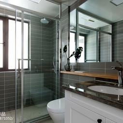 北欧三居卫浴墙砖设计图