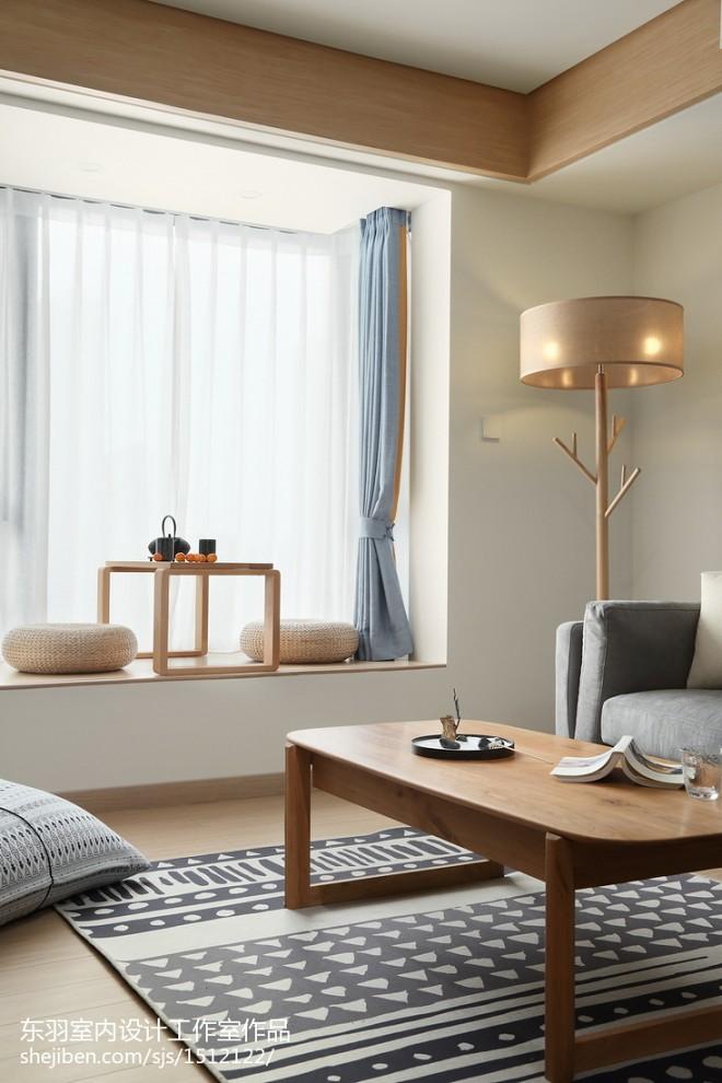 日式三居休闲区设计实景图片