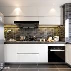 现代高级灰厨房设计图片