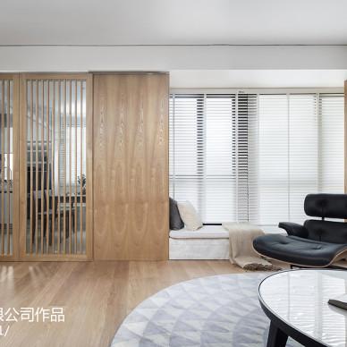 暖暖的新家现代客厅设计图