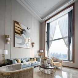 现代复式客厅设计图