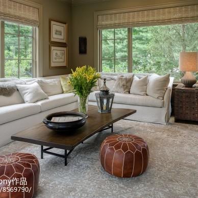 九月森林別墅客廳設計圖