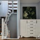 现代灰色系楼梯设计图