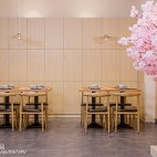 天丼屋餐厅桌椅设计图