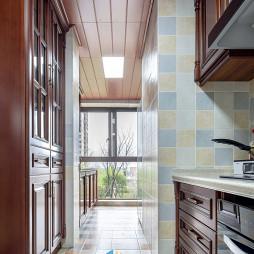 经典的美式厨房设计图