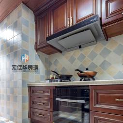 经典的美式厨房设计图片