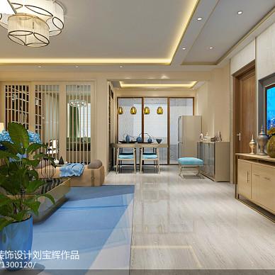 威海新世纪家园99平二手房改造  现代简约风_3187113