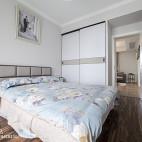220平欧式极简卧室设计图