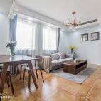 220平欧式极简客厅设计图片