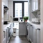 二居厨房实景图
