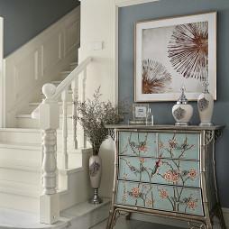 法式混搭楼梯设计图