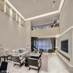 现代豪华客厅设计图片