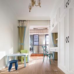 美式三居儿童房设计图片