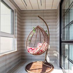 130㎡现代阳台设计图
