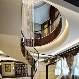 高端会所楼梯设计图
