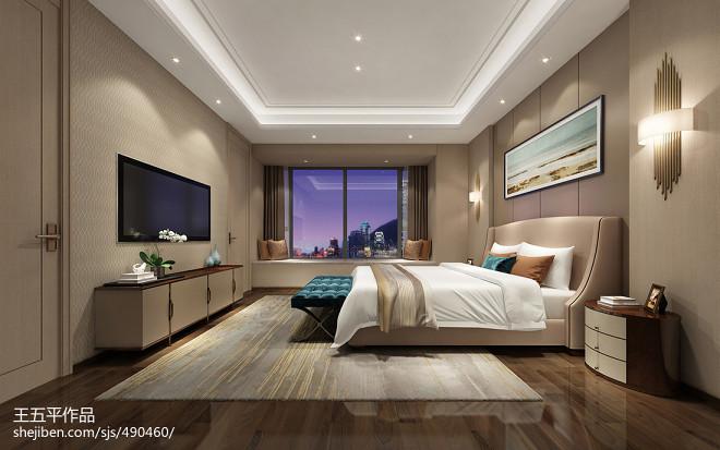 深圳香山美墅豪宅设计-现代轻奢_31