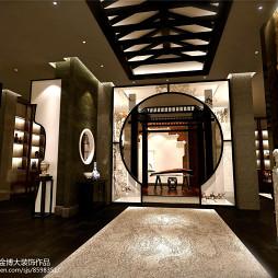郑州黄河景区中式办公室装修设计图_3197412
