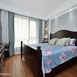 美式主卧室设计图片